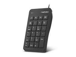 Keyboard Natec Goby USB Numeric fekete (NKL-1333)