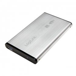 LOGILINK USB 3.0 SATA HDD ház, 2.5'' ezüst (UA0106A)