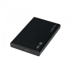 LOGILINK - USB 3.0 HDD Enclosure for 2,5'' SATA HDD/SSD fekete (UA0275)