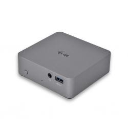 i-tec USB-C 4K Fém Dokkoló szürke (C31METAL4KDOCKPD)