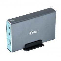 i-tec MYSAFE USB-C 3.1 Gen.2/USB 3.0 Külső ház 2x2,5