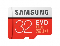 Samsung memory card EVO Plus microSDHC 32GB Class 10 UHS-I (MB-MC32GA/EU)