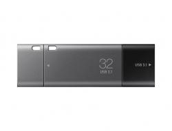 Samsung DUO Plus USB-C / USB 3.1 flash memory  32GB szürke (MUF-32DB/EU)