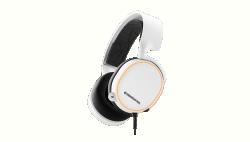 Gaming headset SteelSeries Arctis 5 fehér (61507)