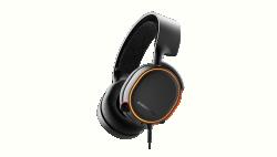 Gaming headset SteelSeries Arctis 5 fekete (61504)