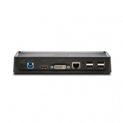 Kensington USB 3.0 Dual Docking station fekete (K33991WW)