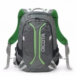 Dicota Backpack ACTIVE 14-15.6 notebook hátizsák szürke/zöld (D31221)