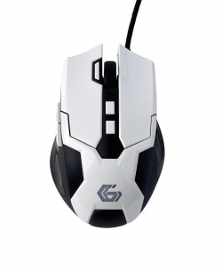 Gembird programmable optical gaming mouse 3200 DPI USB  fehér (MUSG-04)