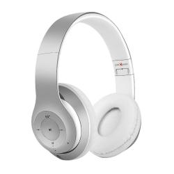Gembird Bluetooth headset Milano microphone & stereo ezüst-fehér ( BHP-MXP-SW)