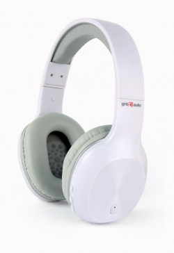 Gembird Bluetooth headset MIAMI microphone & stereo fehér (BHP-MIA-W)