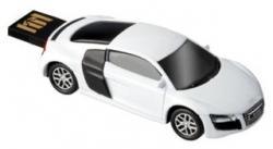 AutoDrive Audi R8 Fehér  8GB Pendrive (C7624064)