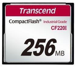 Transcend Industrial memóriakártya CF CF220I 256MB (TS256MCF220I)