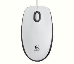 Logitech® egér, M100 fehér (910-005004)