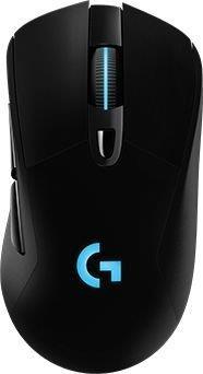 G703 LIGHTSPEED Vezeték nélküli Gamer egér fekete (910-005093)