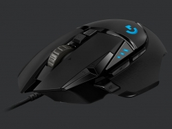 G502 HERO High Performance Gamer egér fekete (910-005470)