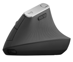 Logitech MX Vertical Advanced Ergonomic Mouse grafitszürke (910-005448)