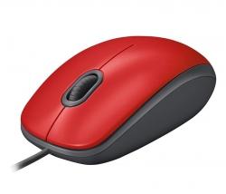 Logitech® M110 Silent piros (910-005489)