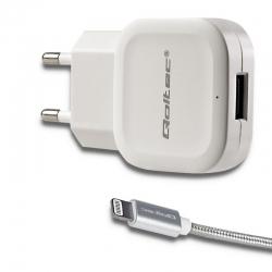 Qoltec AC adapter fehér (51834)