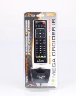 MEGA DROIDER IR - vezeték nélküli micro-billentyűzet, IR távvezérlő (MT1421)