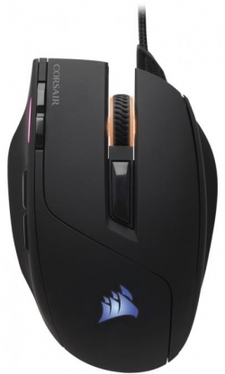 Corsair optikai játékos egér Sabre RGB 10000dpi Fekete (CH-9303011-EU)