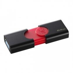 Kingston 64GB Flash Drive fekete-piros ( DT106/64GB)