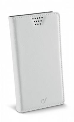 Cellularline Phablet ''XXXXL'' univerzális fehér telefontok (BOOKUNIPHW)