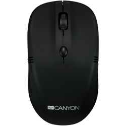 Canyon CNE-CMSW03B wireless egér 1600dpi - Fekete