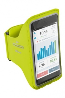 Trust Bracus Sports Arm Band limezöld iPhone 6/6S sport tok (20885)