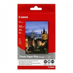 Canon SG-201 10x15 cm 50 db-os selyemfényű fotópapír (1686B015)