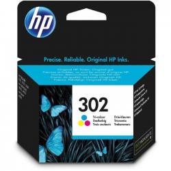 HP No302 színes tintapatron (F6U65AE)