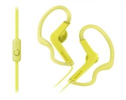 SONY MDR-AS210APY sárga mikrofonos fülhallgató