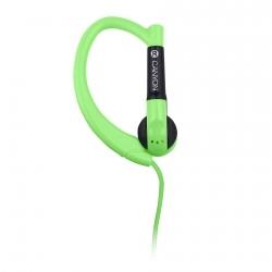 Canyon CNS-SEP1G mikrofonos zöld sport headset
