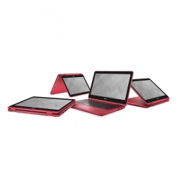 DELL INSPIRON 3168 2IN1 11.6'' Piros Notebook (3168HPNWA4)