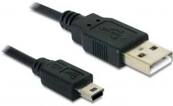 Delock Delock USB 2.0-A > USB mini-B 5 pin apa / apa kábel (82273)