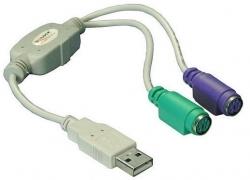 Delock Átalakító USB-PS2 (61244)