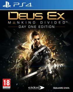 Deus Ex: Mankind Divided Day 1 PS4
