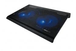 Trust Azul USB fekete notebook hűtőpad ( 20104)