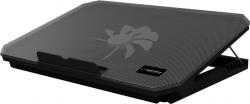 ESPERANZA SAMUM 15,6'' fekete notebook hűtő (EA141)