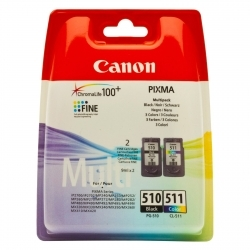 Canon PG-510 + CL-511 fekete+színes multipack tintapatron (2970B010)