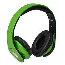 VAKOSS SK-378E fekete-zöld mikrofonos fejhallgató