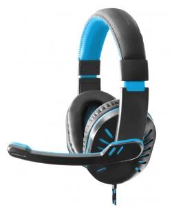 ESPERANZA HEADPHONES FOR GAMERS WITH MICROPHONE CROW BLUE(EGH330B)