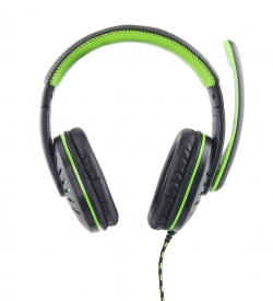 ESPERANZA HEADPHONES FOR GAMERS WITH MICROPHONE CROW GREEN(EGH330G)