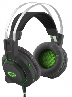 ESPERANZA STEREO HEADSET FOR GAMERS WITH 7.1 SURROUND SOUND (ESPERANZA STEREO HEADSET FOR GAMERS WITH 7.1 SURROUND SOUND)