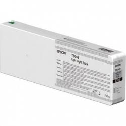 EPSON PATRON SINGLEPACK LIGHT LIGHT BLACK T804900 ULTRACHROME HDX/HD 700ML