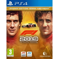 F1 2019 Legend Edition  PS4