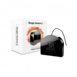 Fibaro redőnyvezérlő fekete (5905279987197)