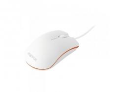 Approx APPOMNWO USB optikai fehér-narancs egér