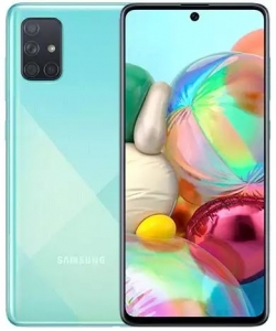 Samsung A715F GALAXY A71 Kék 128GB Dual Okostelefon (SM-A715FZBUXEH)