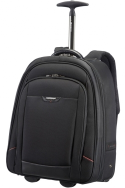 Samsonite PRO-DLX 4 LAPTOP BACKPACK/WH.17.3'' fekete görgős notebook hátizsák (35V-009-020)