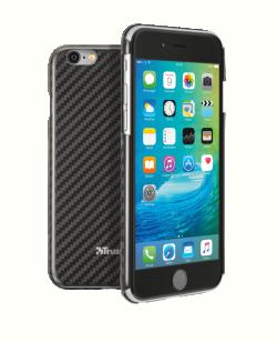 Trust Kova Carbon Case fekete karbon tok iPhone 6 Plus/6 S Plus-hoz (20924)
